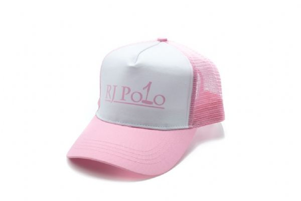Trucker Cap with RJ Polo logo in Pink